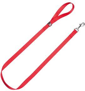 correa nylon basic roja